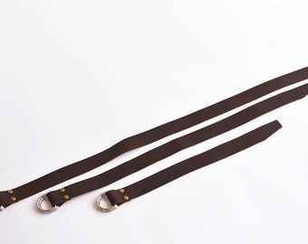 Utility Straps Leather Utility Straps Handmade Leather Utility Straps Leather Cinch Straps Leather Straps