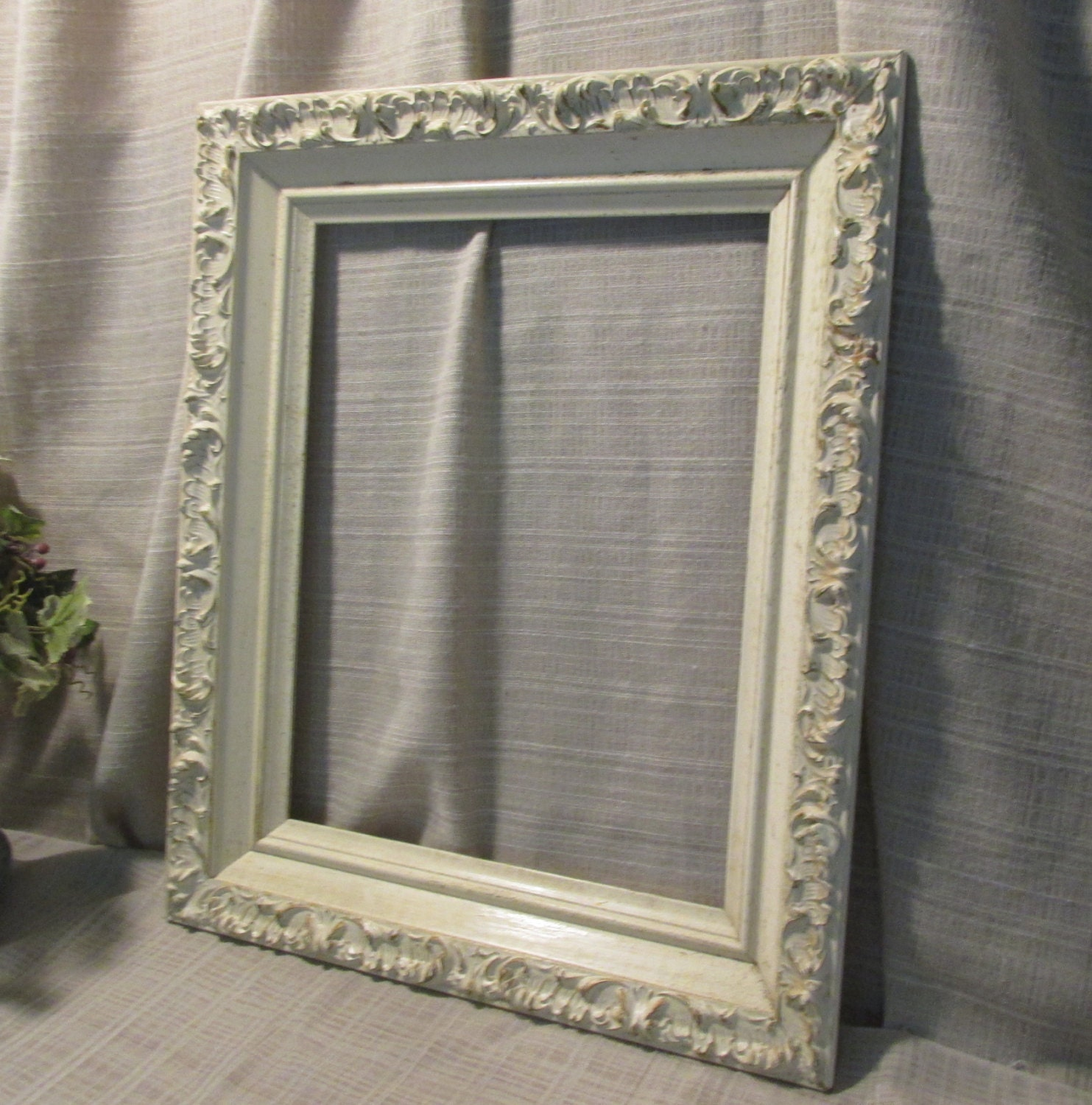 Large Ornate Picture Frame Wall Decorvintage Cottage
