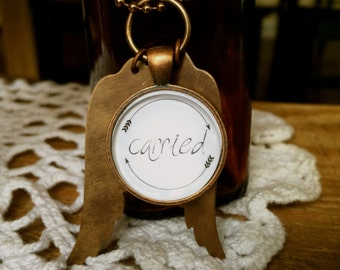 The {carried} necklace