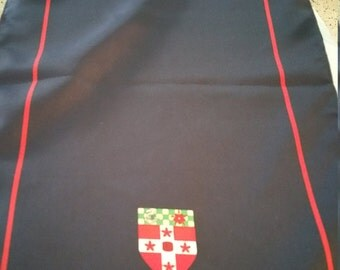 Shield Long Scarf. Made in England. 56 X 12