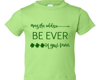 May the odds be ever in your favor St. Patrick's Day shirt