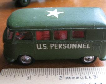 Vintage CORGI  VW  U. S. Personnel Carrier  No. 356 1964 -1966 Diecast