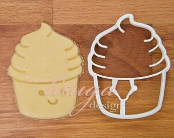 Cupcake cookie cutter - Cute cupcake cookie biscuit No.2