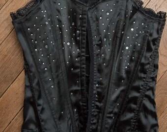 Black corsets