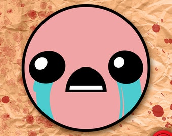 Binding of Isaac Face Sticker