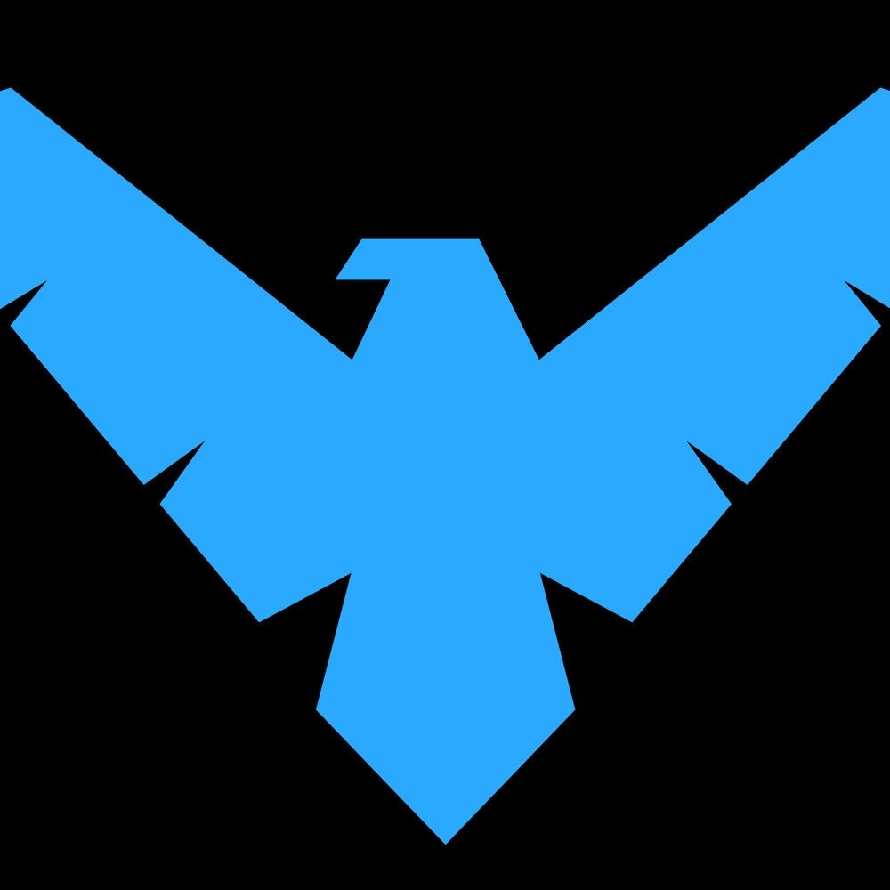 Nightwing Symbol DC Comics Sticker From Player1Stickers On ...