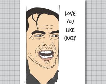 The Shining Card - Love you like Crazy - Jack Nicholson
