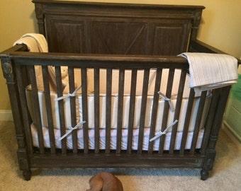 Boutique custom crib bedding
