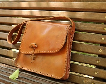 Vintage Shoulder Leather Bag