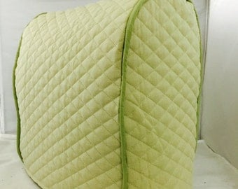 Sage Quilted Lift Kitchenaid Mixer Cover
