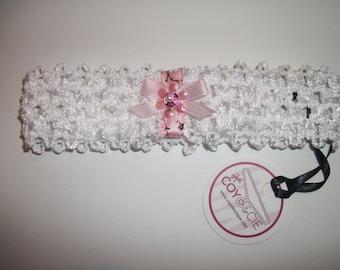 White headband for girl