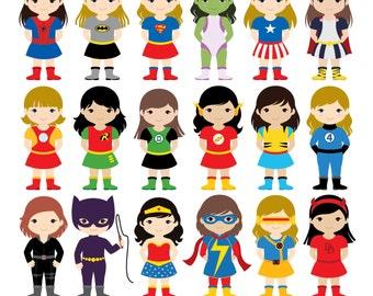 Wonder Woman Clipart Etsy