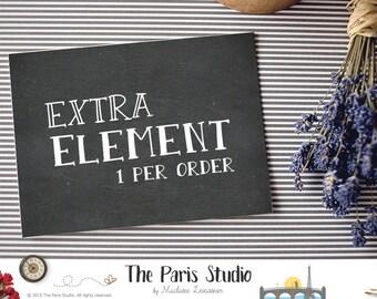 One Extra Element Custom Logo Design Package Watercolor Logo Etsy Shop Logo Wedding Monogram Wordpress Website Blog Logo Boutique Branding