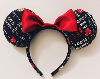 Classic Mickey inspired ears