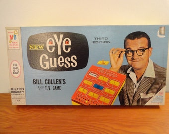 1966 Milton Bradley New Eye Guess Game 3rd Edition Number 4641