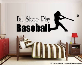 Eat Sleep Play Baseball #2