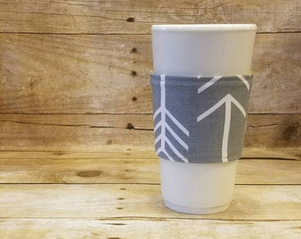 Archer Tula Reversible Coffee Sleeve - Arrows Tula Reversible Coffee Sleeve