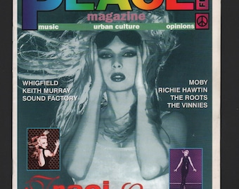 Vintage Peace Magazine : 1994/1995 #18 Traci Lords Ex White Pages