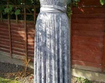 Tube top maxi dress patterns