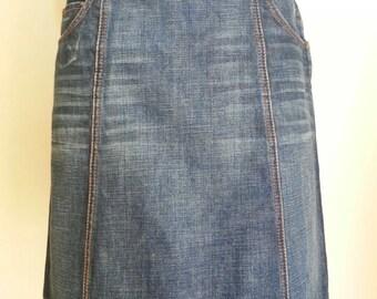 Prada Denim Skirt