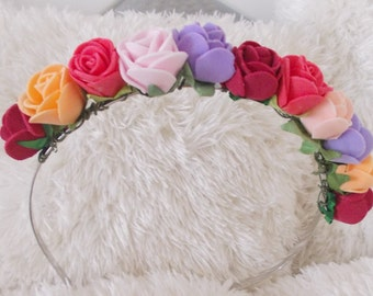 unique flower headbands