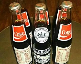 Penn State Coke Bottles