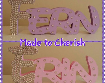 Personalised Free Standing Disney Style Name