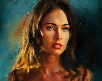 Portrait painting | Etsy