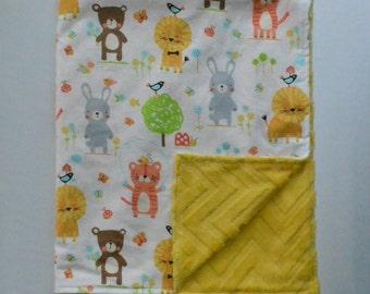 Little Friends Baby/Toddler Minky Blanket