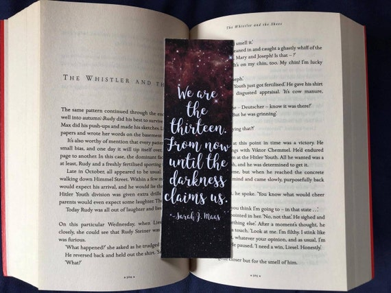 We are the Thirteen Bookmark
