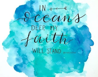 Oceans Deep lyric (original copy)