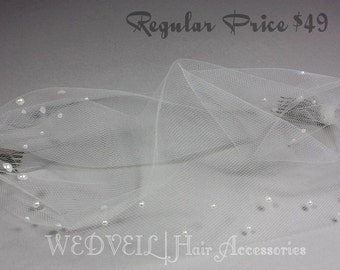 Wedding Veil, with Pearls