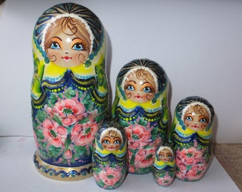 Russian doll Matryoshka  Beauty Lime