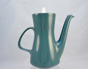 Poole Potteries 'Blue Moon' coffee pot, from the 1960s