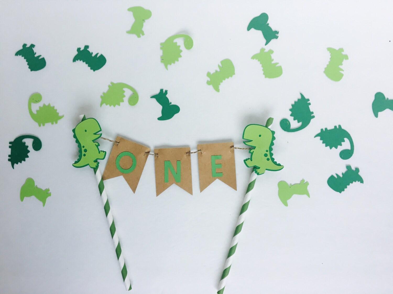 Dinosaur Cake Decorations Toppers : Dinosaur Cake topper. Dinosaur party. Cake smash topper. Boy