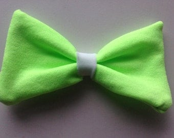 Neon Green Bow