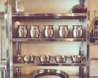 "Stainless steel shelves ""Charles"""