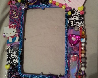 Cute girl hello kitty picture frame