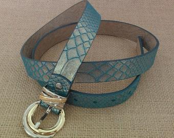 Elegant Genuiene Leather Belt