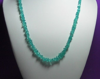 Apatite Necklace 20.5inch 131.65ct