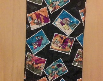 CLEARANCE was 50 now 19. Flintstones Scarf by Hanna Barbera ca. 1994