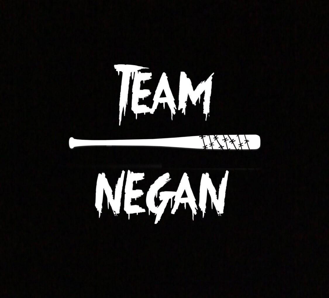 Team Negan Decal Negan for President Team Negan Lucille