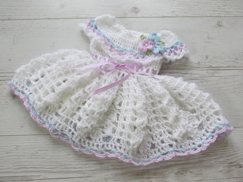 Dress pattern diy crochet dress newborn dress baby dress