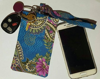 Cell Phone Wristlet / Key Chain