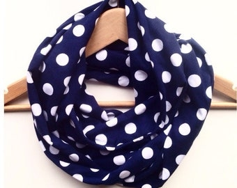 Dotty womens infinity scarf