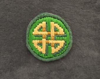 Irish celtic knot patch