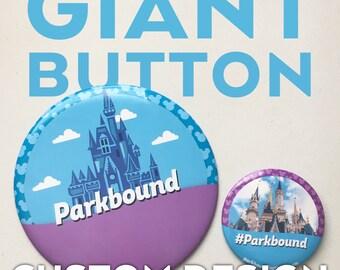 GIANT Custom Celebrating Button