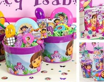 Dora the Explorer party favor cups
