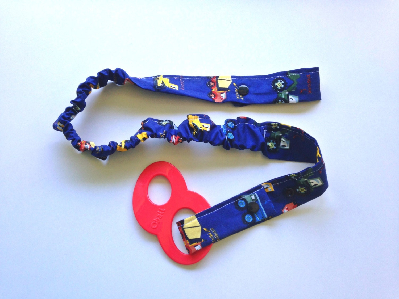 Toy Car Holder Strap : Toy bungy strap chew sensory holder