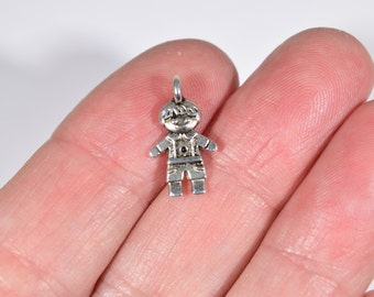 10 Little boy charms | new mother charms | new mom charms | gift for new mothers | mother's day gift | small kid charms | SC1216